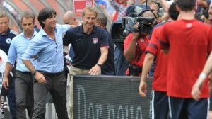United States coach Jurgen Klinsmann has been forced to deny a possible conspiracy with Germany to draw Thursday's World Cup match that would deny Ghana the chance of advancing to the knock-out phase of the tournament in Brazil.