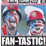 USA win over Ghana hits front page in the States after the flying World Cup start