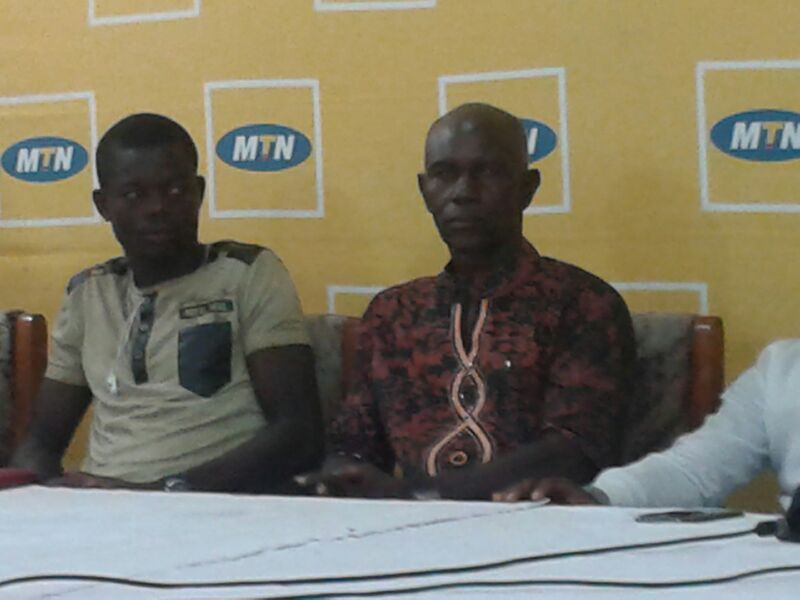 Herbert Addo (middle) wants to win MTN FA Cup final