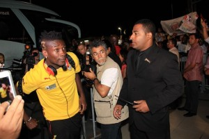 Black Stars arrive in Brazil on the eve of 2014 World Cup
