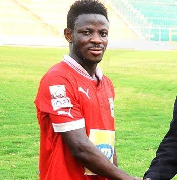 Departing Kotoko striker Yusif Aziz determined to succeed in Egypt