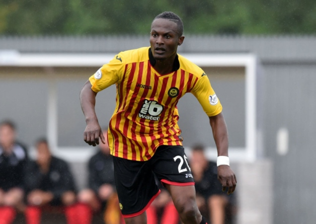 Ghanaian midfielder Abdul Osman signs for Scottish top-flight side Patrick Thistle