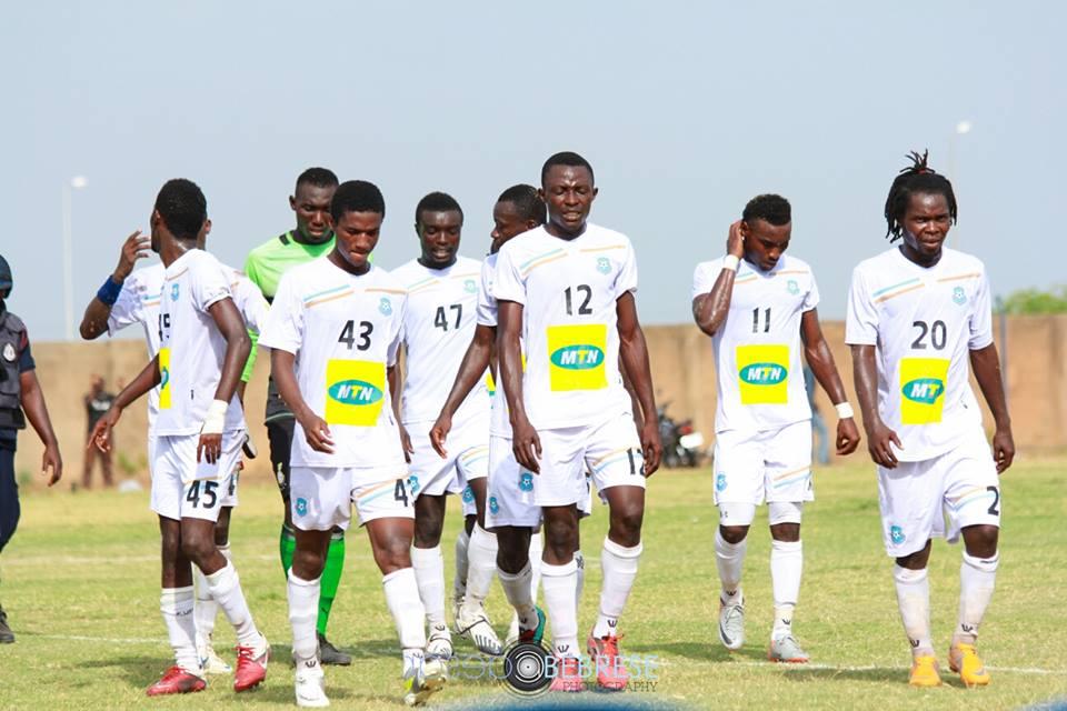 Acheampong with his All Stars team-mates
