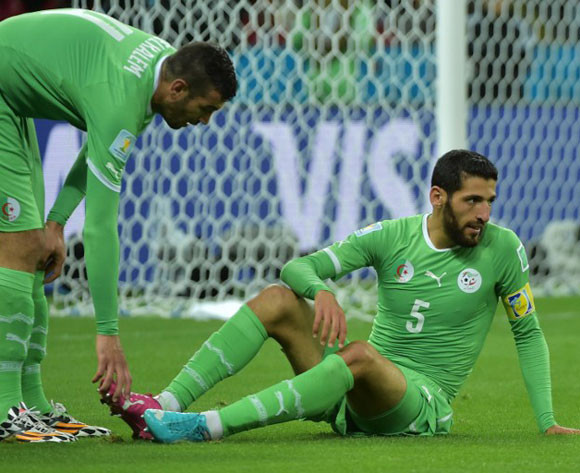 Algeria are out