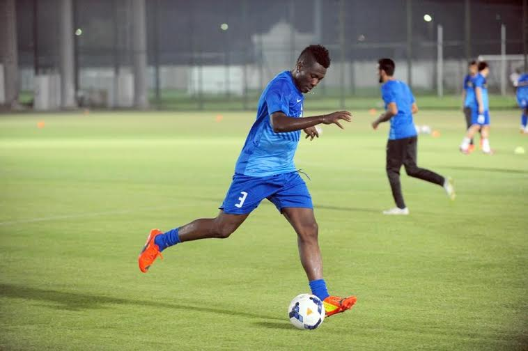Ghana striker Asamoah Gyan has started pre-season training at Al Ain