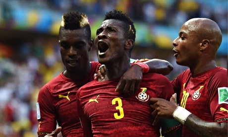 Asamoah Gyan has played in three World Cups for Ghana