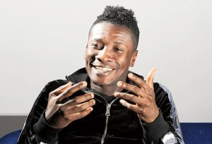 Asamoah Gyan has something to celebrate with birth of daughter
