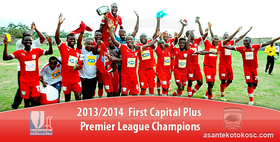 Asante Kotoko won last season's Premier League title