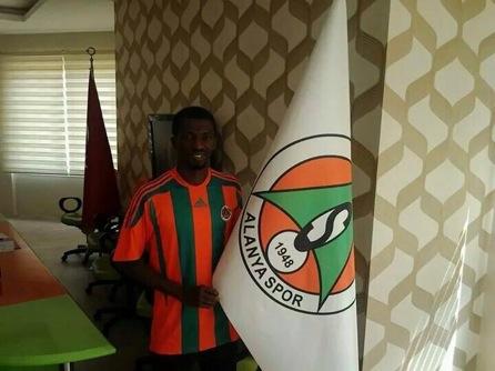 EXCLUSIVE: Turkish side Alanyaspor unveil new signing Yusif Chibsah