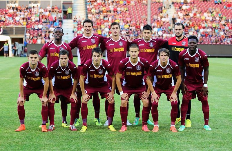 CFR Cluj line-up