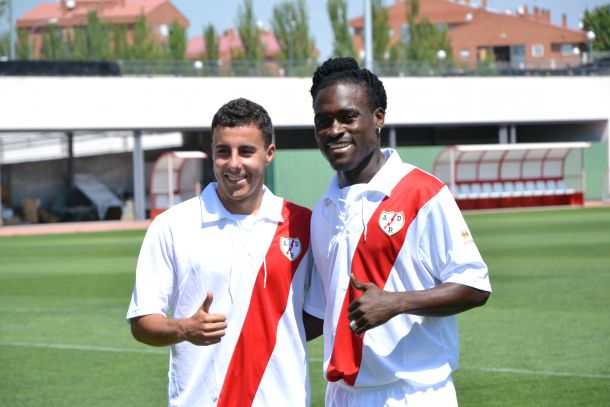 Derek Boateng debuted in Rayo Vallecano defeat
