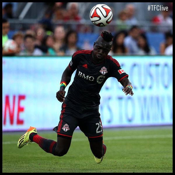 Dominic Oduro scored for Toronto FC