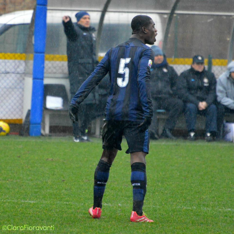 Donkor in action for Inter