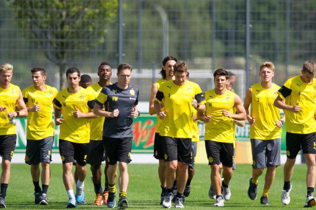 Dortmund training