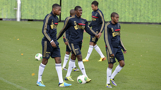 Elton Acolatse and Kenny Tete have been named in the Ajax squad for pre-season