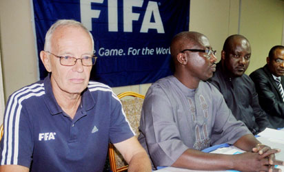FIFA have banned Linus Mba, middle