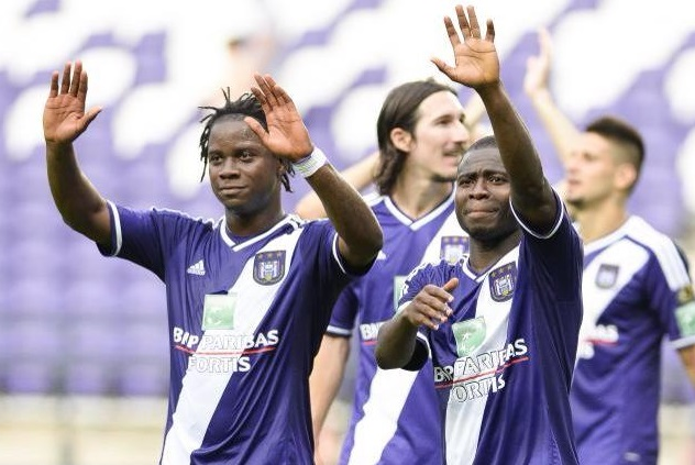 Frank Acheampong thrilled with Anderlecht strike