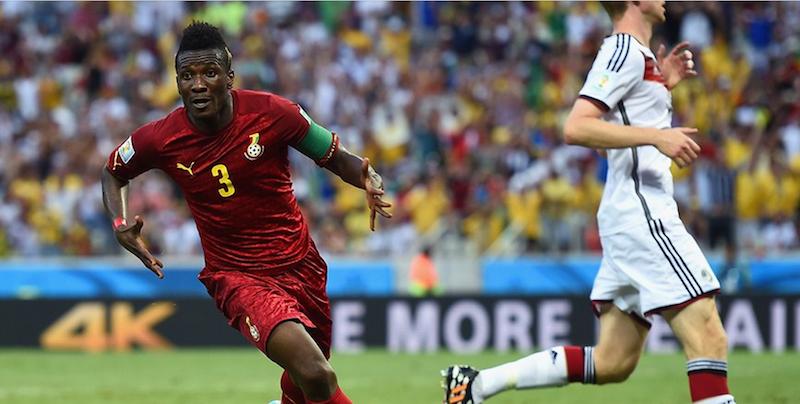 Black Stars captain Asamoah Gyan