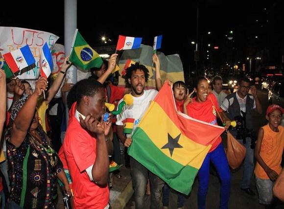 Black Stars fans