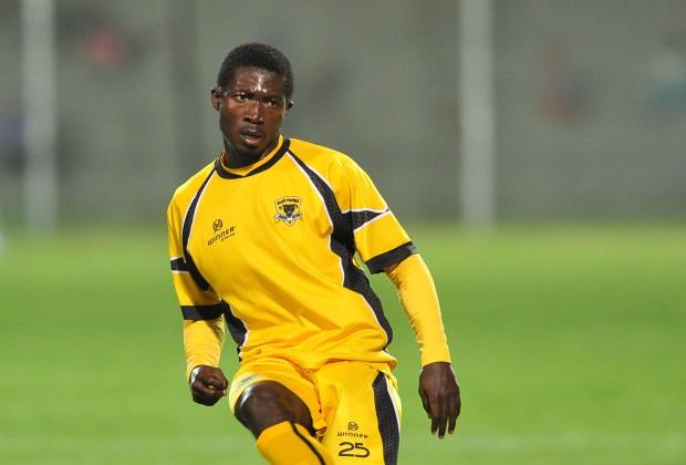 Ghanaian midfielder Mumuni Abubakar trains alone at Sundowns