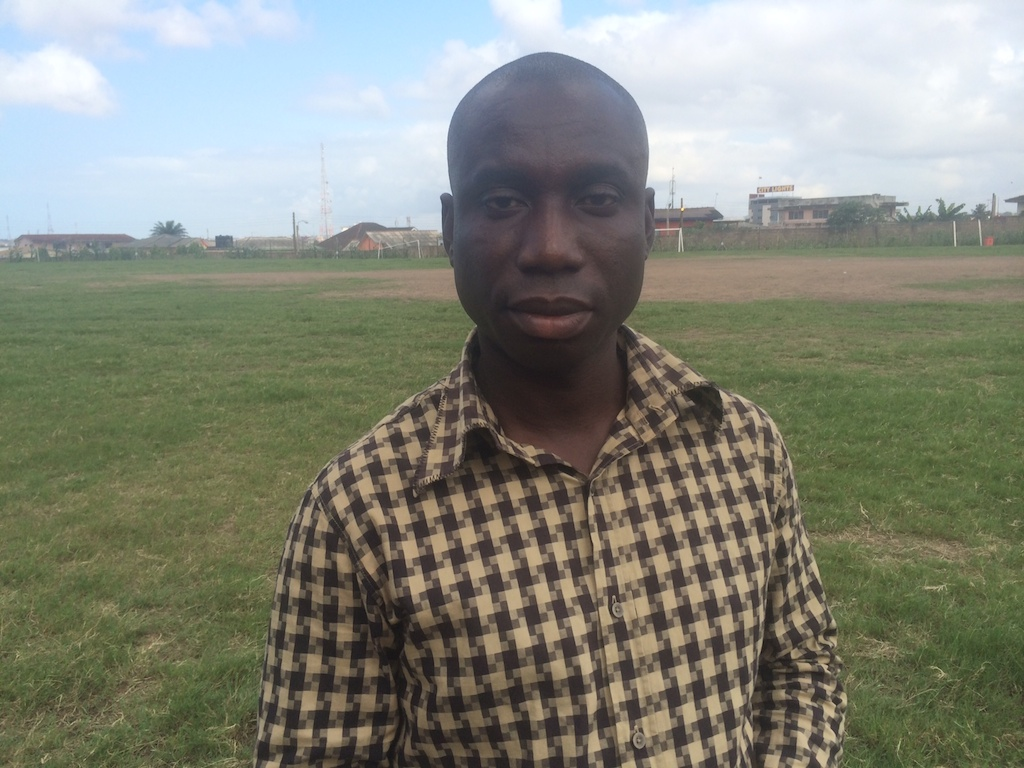 Hackman Aido is Administrative Manager of Hearts of Oak.