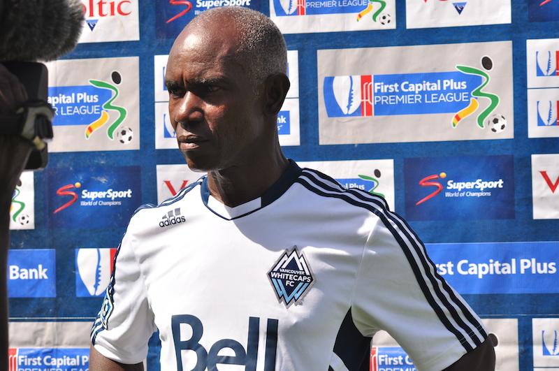 Former Inter Allies coach Herbert Addo.