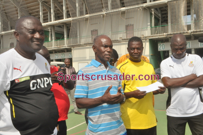 Herbert Addo has started work as Hearts coach.