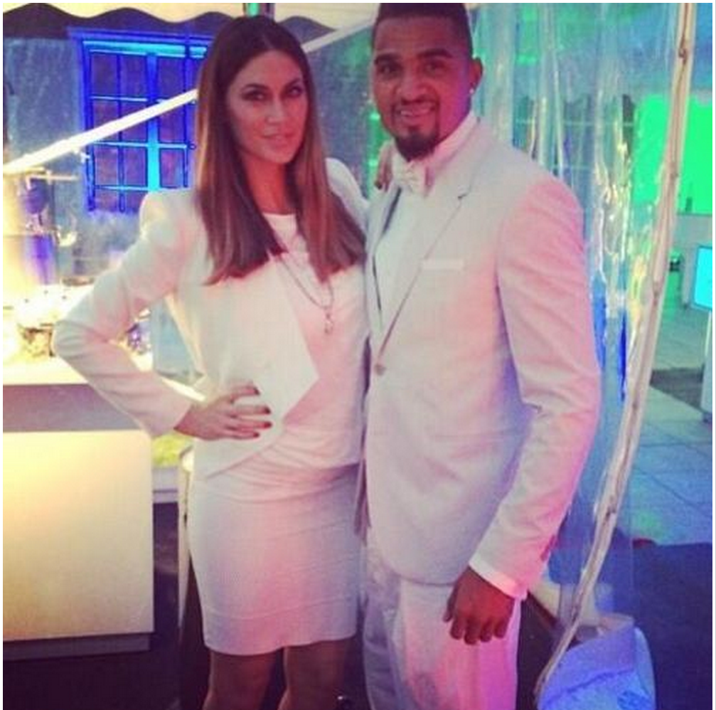 Melissa Sata and Kevin-Prince Boateng