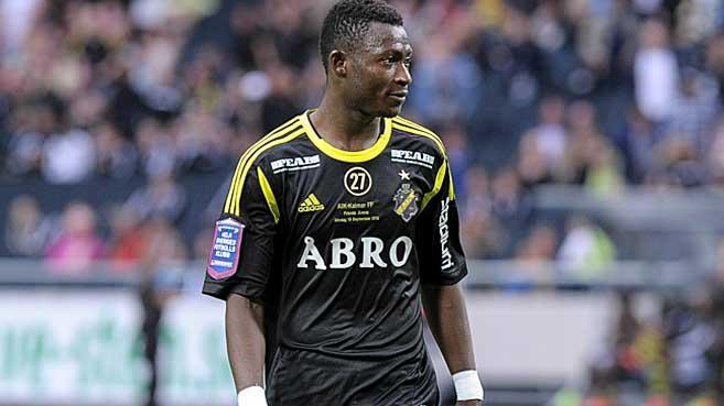 Ibrahim Moro scored for AIK Solna