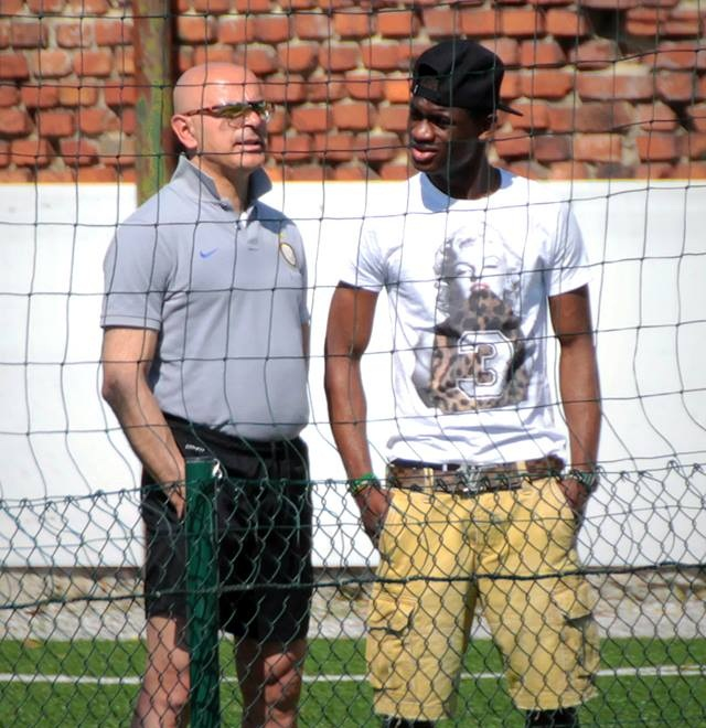 Isaac Donkor has joined Inter for pre-season