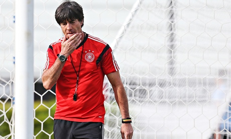 Joachim Löw believes Germany have plenty of young players coming through the ranks. Photograph: Carl Recine/Action Images