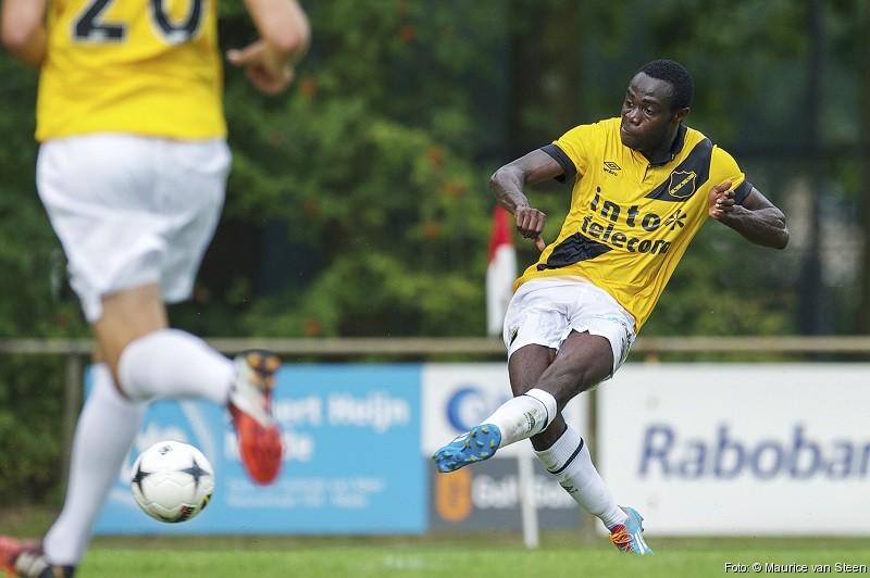 Kingsley Boateng crabs second goal of NAC Breda pre-season