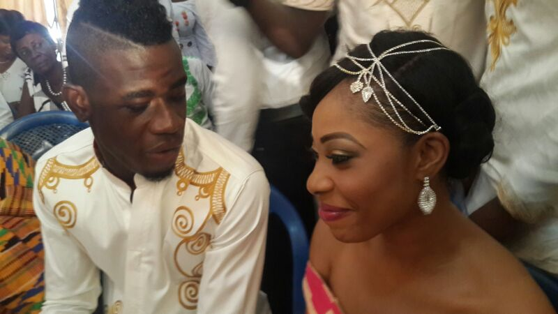Afriyie Acquah and wife Amanda