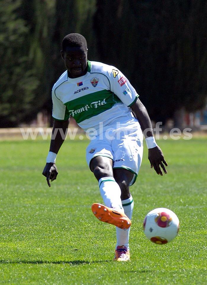 Michael Anaba impressed in midfield for Elche CF in pre-season win