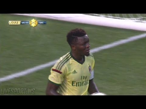 Muntari scored for AC Milan