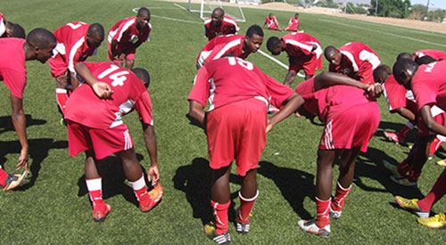 Namibia junior national team.