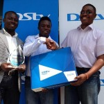 Augustine Okrah receives DSTV-SuperSport award