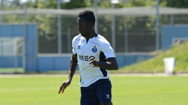 Daniel Opare training with FC Porto.