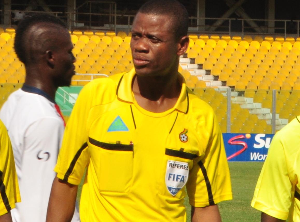Referee William Agbovi