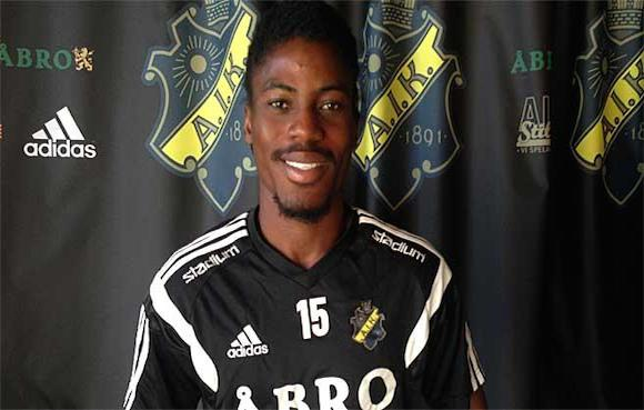 Richard Boateng is training with AIK Stockholm.