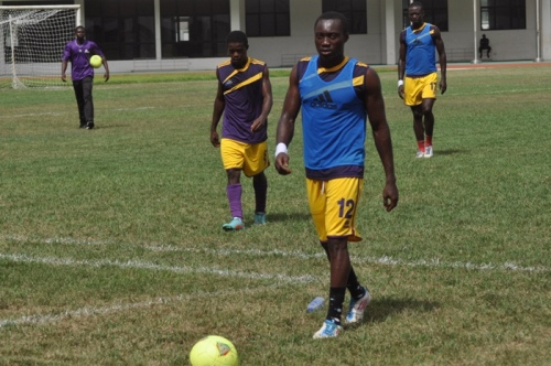 Defender Samuel Adade