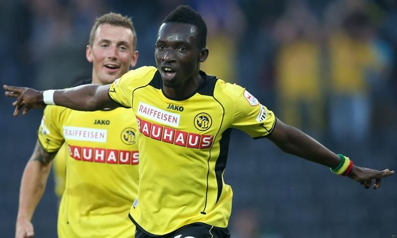 Samuel Afum scored to lift Young Boys