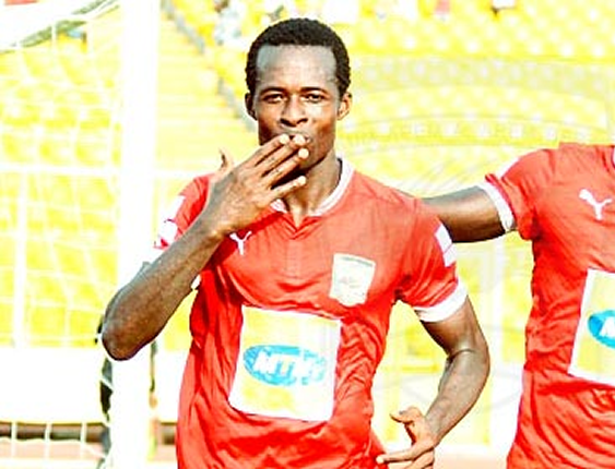 Seidu Bancey on his way out of Kotoko