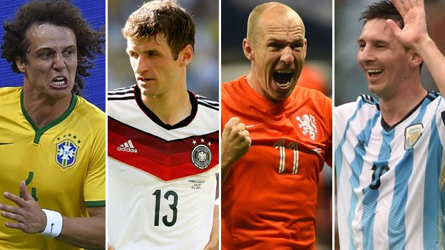 World Cup semi-finalists