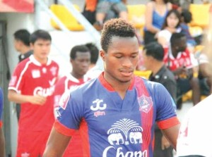 Ghanaian midfielder Leslie Ablorh hits top form in Thailand