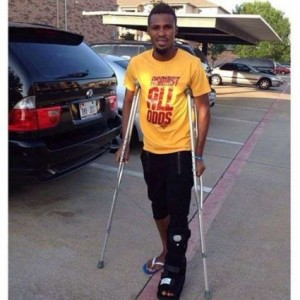 Video: Watch touching Black Stars tributes to injured Jerry Akaminko before World Cup