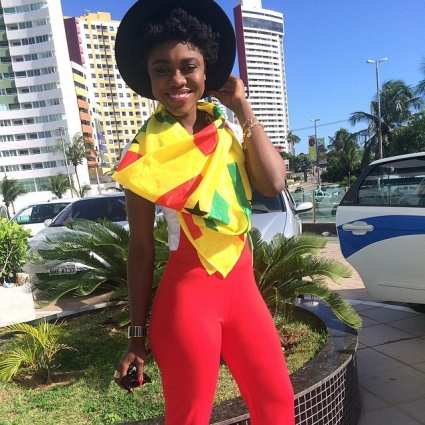 The coordinator for Ghana's 2014 World Cup ambassadors has launched a scathing attack on Ghanaian journalists claiming 'God will punish them for spreading lies' about musician Becca having sex with the players during the tournament in Brazil.