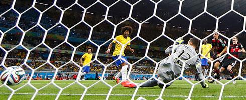 Germany annihilated Brazil 7-1