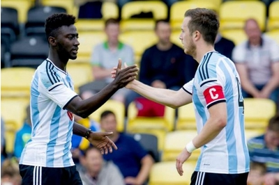 Scottish side Hearts have all but agreed a deal to sign Ghanaian midfielder Prince Bauben on a one-year contract by Tuesday, GHANAsoccernet.com can reveal.