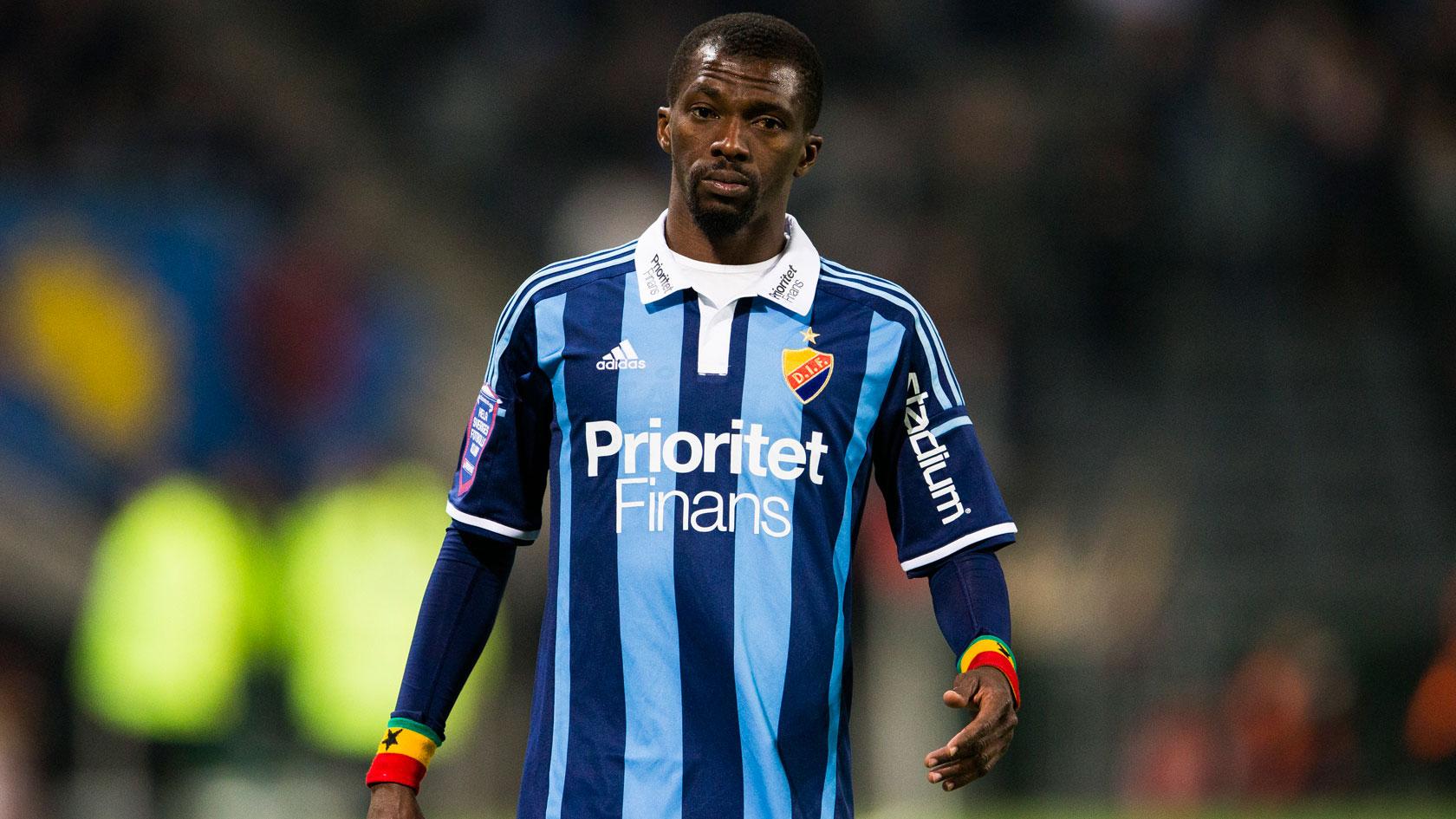 Yusif Chibsah has left Djurgarden for Turkish second tier side Antalyaspor.
